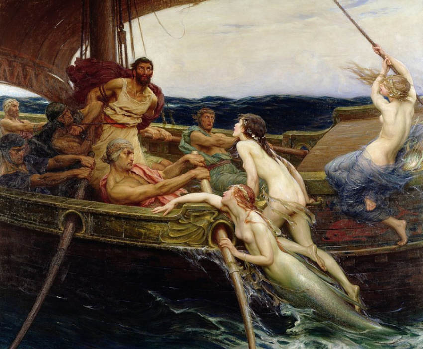 Sirens in the Odyssey